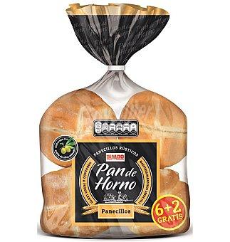 Pan de Horno Panecillos 6+2 400 GRS