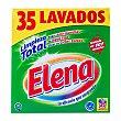Detergente lavadora polvo ropa blanca 35 lavados - paquete 2555 g Elena