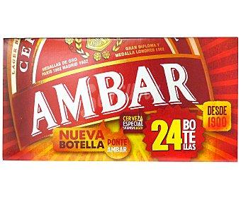 Ambar Cerveza especial 24x25 cl
