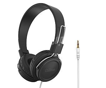 Qilive Auriculares tipo DJ Q1537 863302 con cable, negro 863302 con cable, negro