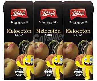 Libby's néctar de melocotón pack 3 envase 20 cl