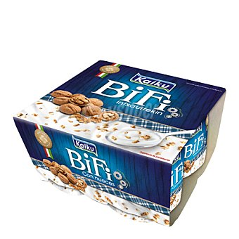 Kaiku Bifi Activium con nueces Pack 4x125 g