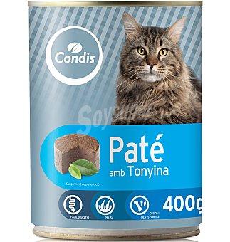 Condis Comida gato atún 400 G