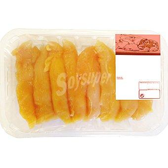Solomillos de Pollo Amarillo - Peso Aproximado Bandeja 350 g