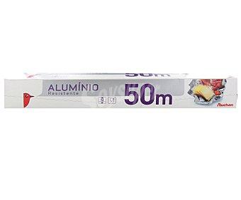 Auchan Papel de aluminio resistente 50 metros