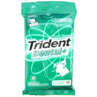 Trident Chicles dental en grageas Pack 4x14,5 g