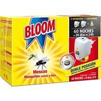 Bloom Antimoscas-mosqui. eléctrico 2 aparatos + recambio