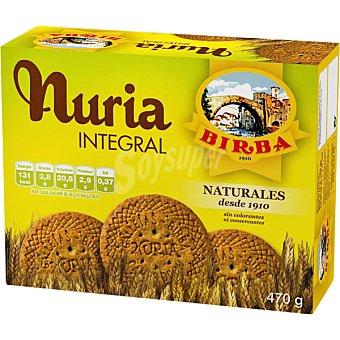 BIRBA Nuria Galletas integrales sin colorantes ni conservantes Estuche 470 g