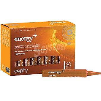 EOPHY Energy+ ginseng ayuda a liberar tu energía 20 ampollas Estuche 212 g