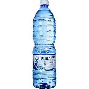 Agua de Benassal Agua mineral Botella 1,5 l