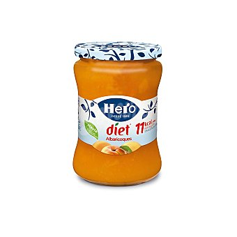 Hero Confitura de albaricoque Diet Tarro 280 gr