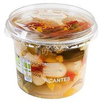 Eroski Banderillas picantes Tarrina 250 g