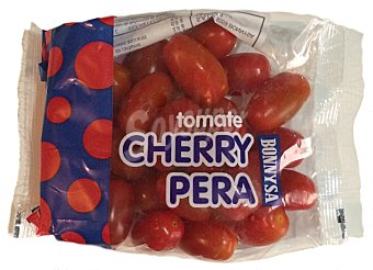 Tomate Cherry Pera Paquete 300 g