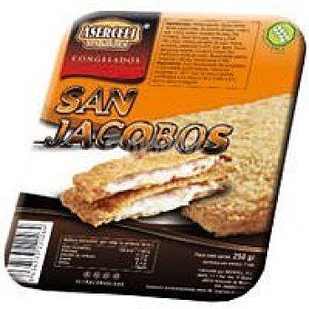 ASERCELI San jacobos sin gluten Bandeja 250 g