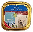 Comida perro razas pequeñas junior pate buey leche Tarrina de 150 g Bobby