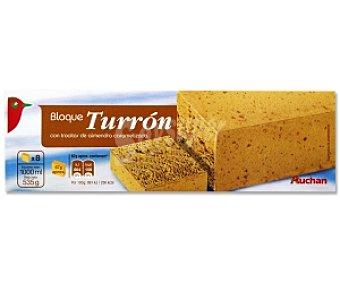 Auchan Bloque Turrón 1 Litro