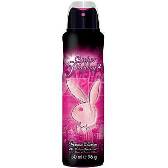 SUPER PLAYBOY Desodorante femenino 24h spray 150 ml Spray 150 ml