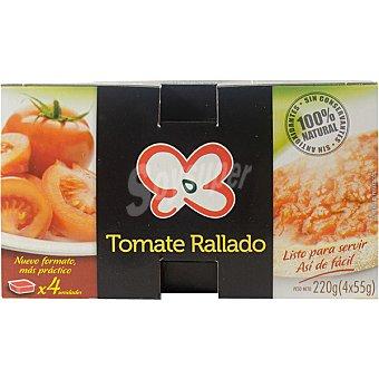 Primaflor Tomate rallado listo para tomar Pack 4 tarrina 55 g