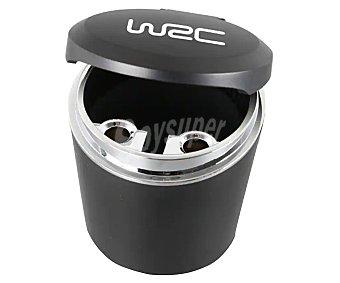 WRC Cenicero universal que se adapta a un porta-bebidas estándar, e incluye tapa para evitar derrames accidentales WRC