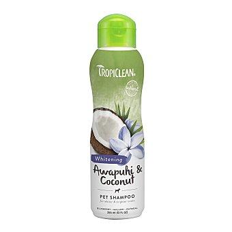 Tropiclean Champú natural blanqueante Tropiclean para perros pelo blanco Awapuhi & Coconut 355 ml