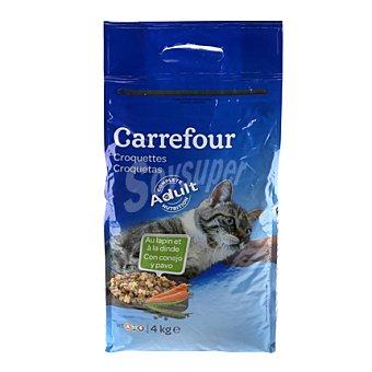 Carrefour Croquetas para gatos de carne 4 kg