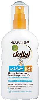 Delial Garnier Spray Solar Niños.Factor de Protección 50 200ml