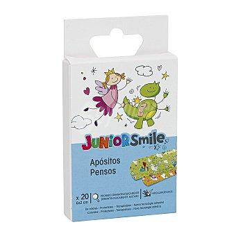 JUNIOR SMILE Tiritas para niños caja 20 uds 20 uds
