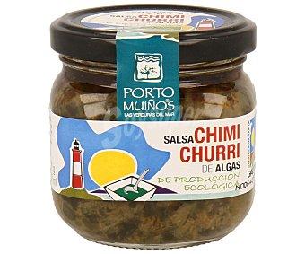 Porto Muiños Salsa chimichurri de algas de producción ecológica 170 gramos