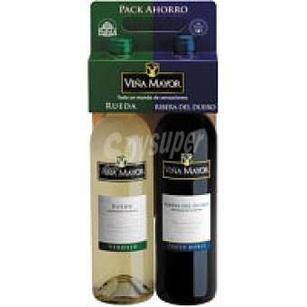 TInto Roble VIÑA MAYOR Evino Botella 75 cl + Verdejo