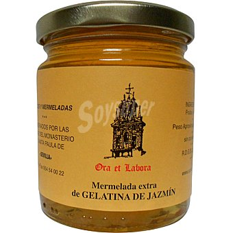 ORA ET LABORA Mermelada extra de gelatina de jazmín tarro 300 g tarro 300 g