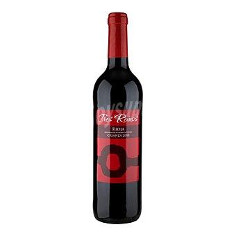 Tres Reinos Vino D.O. Rioja tinto crianza - Exclusivo Carrefour 75 cl