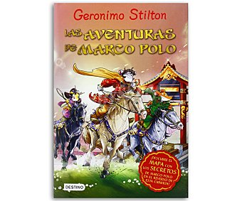 Destino Grandes historias de Geronimo Stilton: Las aventuras de Marco Poco, vv.aa. Género: aventuras. Editorial Destino