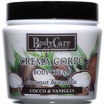 BODYCARE Crema corporal Coconut & Vainilla Tarro 400 ml