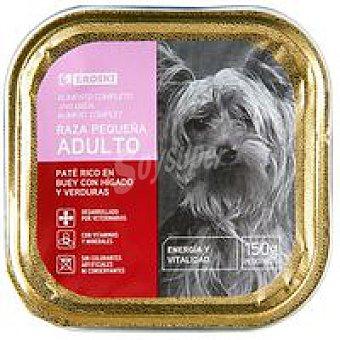 Eroski Paté de buey para perro 150g