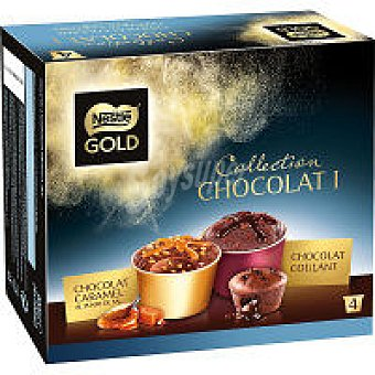 Gold Nestlé Minicup Gold Coula/Caram P4 pack-4 x 100ml