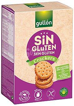 Gullón Galletas crackers sin gluten Caja 200 g