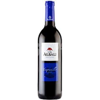 V. Albali Vino Tinto Joven Tempranillo Valdepeñas Botella 75 cl