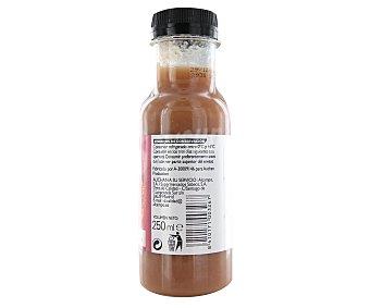 Mmm Auchan Smoothie de fresa y plátano (mezcla de zumos y purés de frutas) 250 mililitros