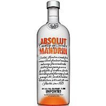 Absolut Vodka Vodka de mandarina Botella 70 cl