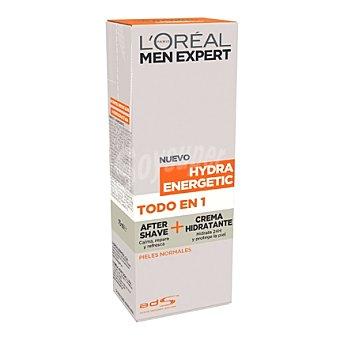 L'Oréal Men Expert After shave + crema hidratante Hydra Energetic para pieles normales 75 ml
