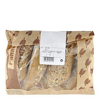 Carrefour Panecillos pipas de calabaza Bolsa 4 ud