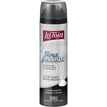 La Toja Espuma de afeitar triple acción tonificante Hidrotermal Spray 250 ml