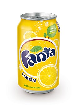 Fanta Refresco limon Lata 33 cl