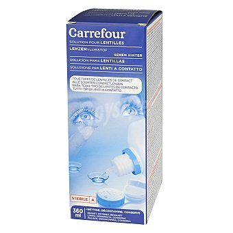 Carrefour Líquido para lentes de contacto Solución 360 ml