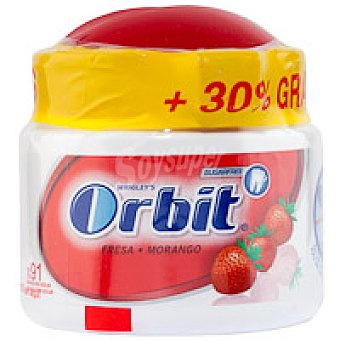 Orbit Chicle de fresa Bote 157 g + 30%