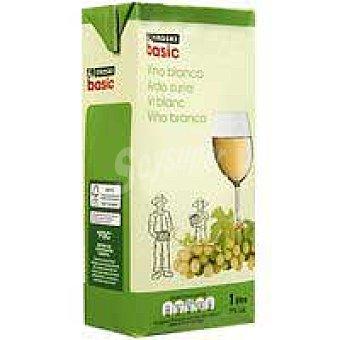 Eroski Basic Vino Blanco Brik 1 litro