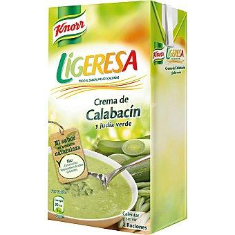 Knorr Crema de calabacín y judías verdes Ligeresa Envase 500 ml