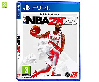 Deportes NBA 21 para Playstation 4. Género: , baloncesto. pegi: +3 2k