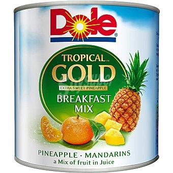Dole Gold mix de frutas tropicales con piña y mandarina lata 263 g neto... Lata 263 g neto escurrido