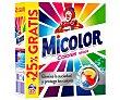 Detergente máquina polvo colores puros maleta  20 cacitos Micolor